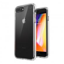 Speck Presidio Perfect-Clear - Etui iPhone 8 Plus / 7 Plus z powłoką MICROBAN (Clear/Clear)