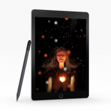 ZAGG Pro Stylus - pencil do Apple iPad (black)