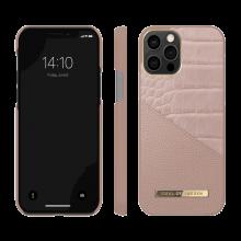 iDeal of Sweden Atelier - etui ochronne do iPhone 12/12 Pro (Rose Smoke Croco)