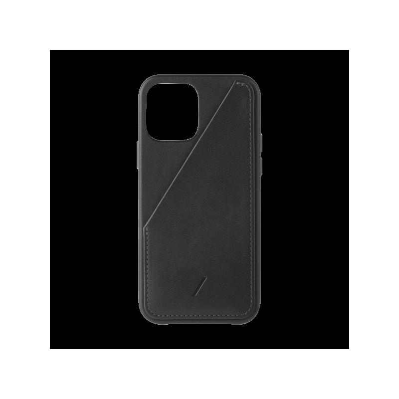 Native Union Card - skórzana obudowa ochronna do iPhone 12 Pro Max (black)