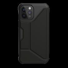 UAG Metropolis SATN ARMR - obudowa ochronna z klapką do iPhone 12 Pro Max (czarna)