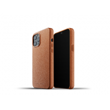 Mujjo Full Leather Case - etui skórzane do iPhone 12 Pro Max (brązowe)