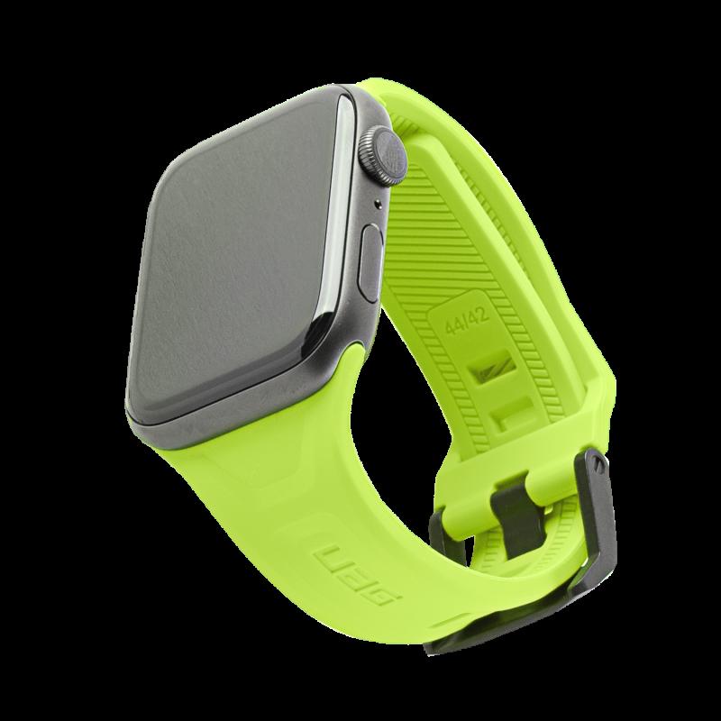 UAG Scout - pasek do Apple Watch 42/44mm (zielony neonowy)