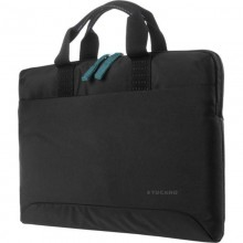 "Tucano Smilza Super Slim Bag - Torba MacBook Pro 16"" / Notebook 15.6"" (czarny)"