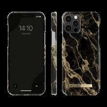 iDeal of Sweden Fashion - etui ochronne do iPhone 12/12 Pro (Golden Smoke Marble)