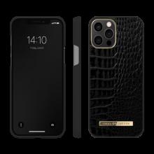 iDeal of Sweden Atelier - etui ochronne do iPhone 12/12 Pro (Neo Noir Croco)