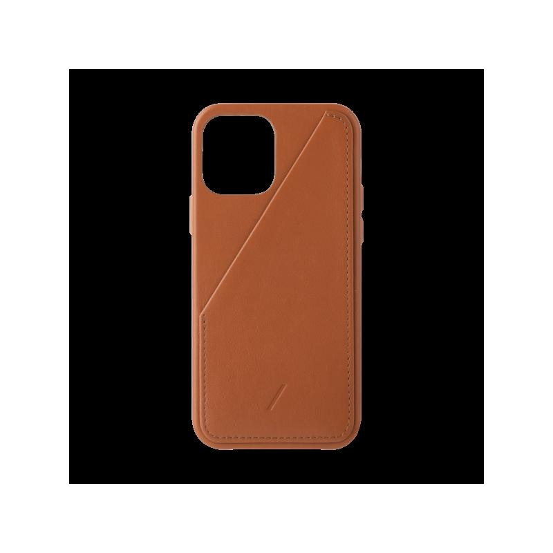 Native Union Card - skórzana obudowa ochronna do iPhone 12 Pro Max (tan)