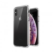 Speck Presidio Perfect-Clear - Etui iPhone Xs / X z powłoką MICROBAN (Clear)