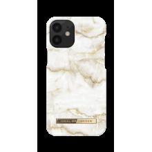 iDeal of Sweden Fashion - etui ochronne do iPhone 12 mini (Golden Pearl Marble)