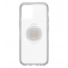 OtterBox Symmetry Clear POP - obudowa ochronna z PopSockets do iPhone 12 mini (przezroczysta)