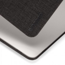 "Incase Textured Hardshell in Woolenex - Materiałowa obudowa MacBook Pro 13"" (2019/2018/2017/2016) (grafitowy)"