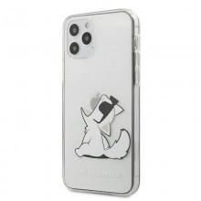 Karl Lagerfeld Choupette Fun Sunglasses - Etui iPhone 12 / iPhone 12 Pro (przeroczysty)