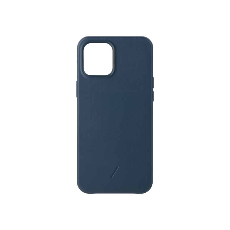 Native Union Classic - skórzana obudowa ochronna do iPhone 12 Pro Max (niebieska)