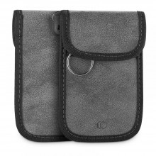 KLATKA FARADAYA TECH-PROTECT V1 KEYLESS RFID SIGNAL BLOCKER CASE GREY