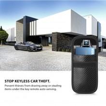 KLATKA FARADAYA TECH-PROTECT V1 KEYLESS RFID SIGNAL BLOCKER CASE CARBON