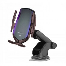 TECH-PROTECT R2 CAR MOUNT WIRELESS CHARGER BLACK