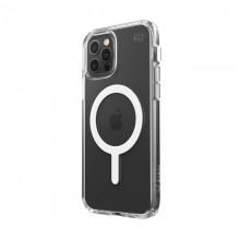 Speck Presidio Perfect-Clear + Magsafe – Etui iPhone 12 / iPhone 12 Pro z powłoką MICROBAN (Clear)