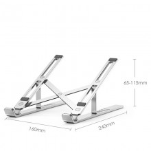 TECH-PROTECT ALUSTAND UNIVERSAL LAPTOP STAND SILVER
