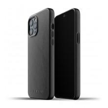 Mujjo Full Leather Case - etui skórzane do iPhone 12 Pro Max (czarne)