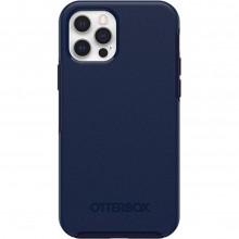 OtterBox Symmetry Plus - obudowa ochronna do iPhone 12/12 Pro kompatybilna z MagSafe (Navy Captain Blue)