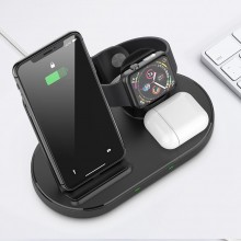 TECH-PROTECT W55 WIRELESS CHARGING STATION BLACK