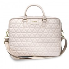 """Guess Quilted Computer Bag - Torba na notebooka 15"""" (różowy)"""