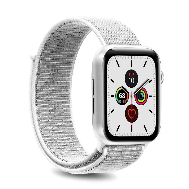 PURO Nylon - Pasek do Apple Watch 42 / 44 mm (Biały)