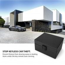 KLATKA FARADAYA TECH-PROTECT V3 KEYLESS RFID SIGNAL BLOCKER BOX CROSS BLACK