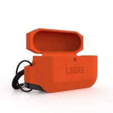[EOL] UAG - obudowa silikonowa do Airpods Pro (pomarańczowo/czarna)