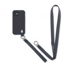 Moshi Altra - Etui z odpinaną smyczką iPhone 12 Mini (system SnapTo) (Denim Blue)