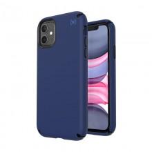Speck Presidio2 Pro - Etui iPhone 11 z powłoką MICROBAN (Coastal Blue/Black/Storm Grey)