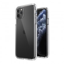 Speck Presidio Perfect-Clear - Etui iPhone 11 Pro Max z powłoką MICROBAN (Clear)
