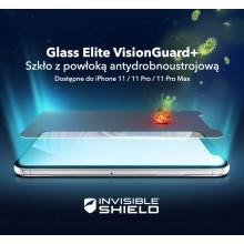 Zagg InvisibleShield Glass Elite Vision Guard+ - szkło ochronne z powłoką antybakteryjną oraz Eyesafe® do iPhone 11 Pro Max
