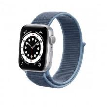 Crong Nylon - Pasek sportowy do Apple Watch 38/40mm (Ocean Blue)