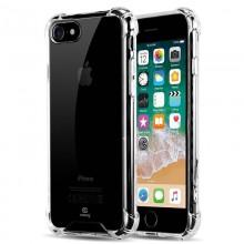 Crong Hybrid Protect Cover - Etui iPhone SE 2020 / 8 / 7 (przezroczysty)