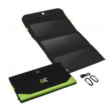 Green Cell SolarCharge - Ładowarka, panel solarny o mocy 21W z funkcją power banka 6400mAh
