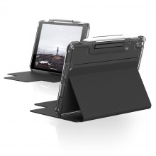 """UAG Lucent [U] - obudowa ochronna z uchwytem do Apple Pencil do iPad 10.2"""" 7&8G (czarno/przezroczysta)"""