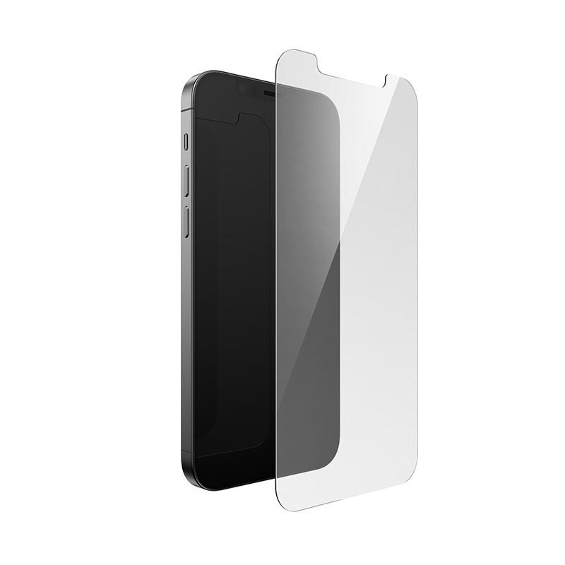 Speck Shieldview Glass - Hartowane szkło ochronne iPhone 12 / iPhone 12 Pro z powłoką MICROBAN