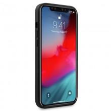 Bmw Leather Hot Stamp - Etui iPhone 12 Pro Max (czarny)