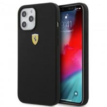 Ferrari On Track Silicone – Etui iPhone 12 Pro Max (czarny)