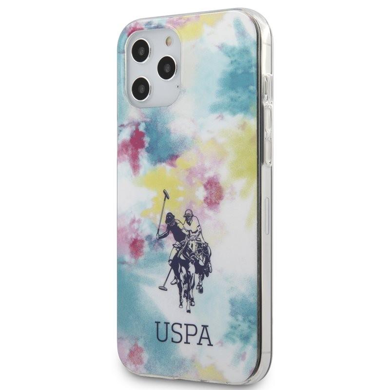 US Polo Assn Tie & Dye - Etui iPhone 12 Pro Max