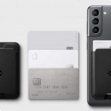 SPIGEN VALENTINUS CARD HOLDER BLACK