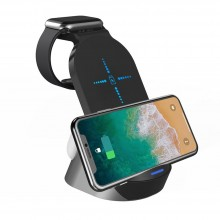 TECH-PROTECT H18 WIRELESS CHARGING STATION BLACK