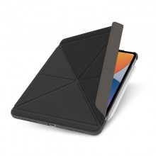 "Moshi VersaCover – Etui origami iPad Pro 11"" (2021/2018) / iPad Air 4 10.9"" (2020)(Charcoal Black)"