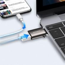JOYROOM S-H151 ADAPTER  TYPE-C TO USB BLACK