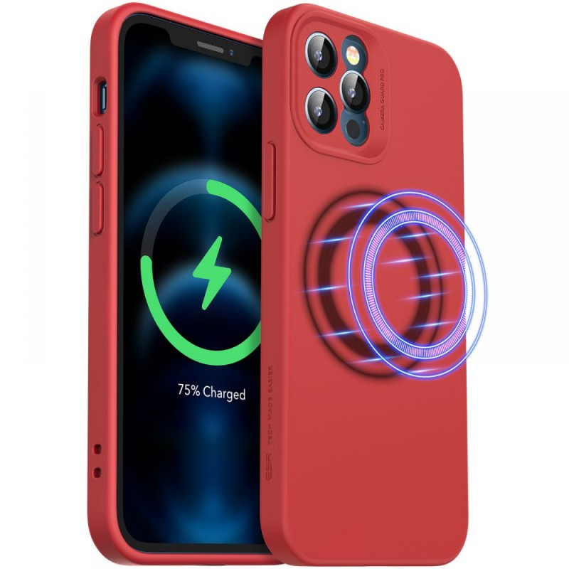 ESR CLOUD SOFT MAGSAFE IPHONE 12 PRO MAX RED