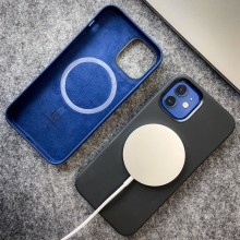 Crong Color Cover Magnetic - Etui iPhone 12 Pro Max MagSafe (czarny)