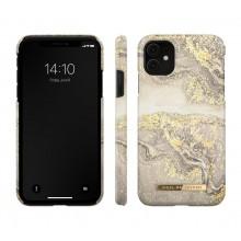 iDeal of Sweden Fashion- etui ochronne do iPhone 11/XR (Sparkle Greige Marble)