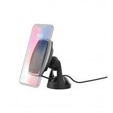 Scosche MagicMount Pro Charge Window/Dash - uchwyt samochodowy na okno lub deskę rozdzielczą z ładowaniem bezprzewodowym (czarny