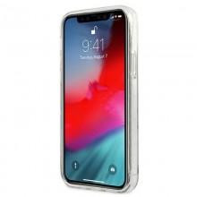 Guess Glitter 4G Big Logo - Etui iPhone 12 Pro Max (przezroczysty)